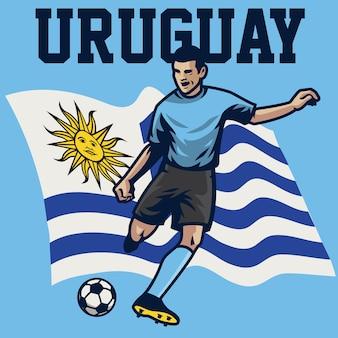 Jogador de futebol do uruguai