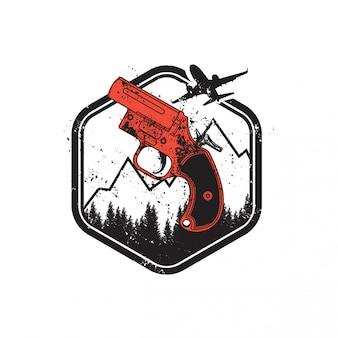 Jogador desconhecido campo de batalha flare gun