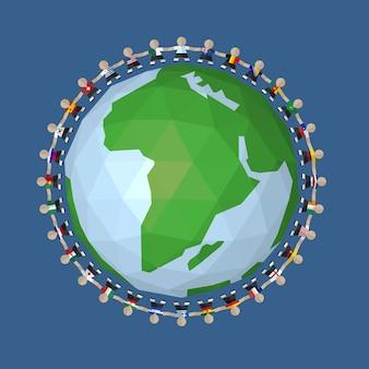 Jogadores da seleção nacional de futebol ao redor do mundo