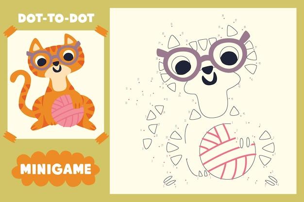 Jogo bonito ponto a ponto com ilustrações