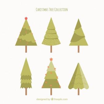 Jogo de árvores muito liso do natal