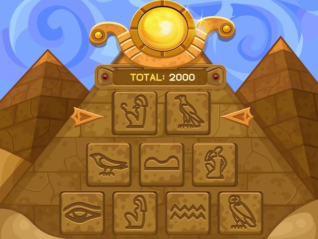 Jogo de bônus das pirâmides