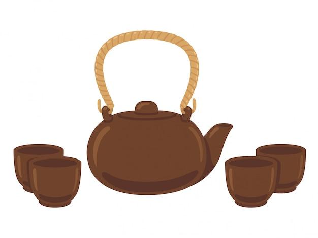 Jogo de chá japonês