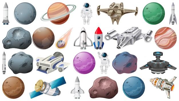 Jogo, de, espaço, elemento