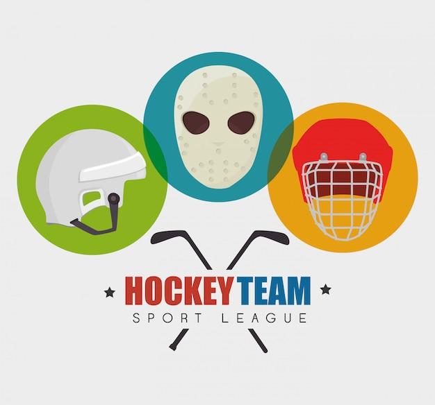 Jogo de esporte hocket