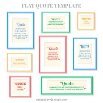 Jogo de frames das citações coloridas