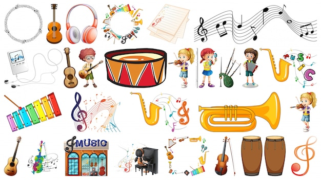 Jogo, de, instrumento música