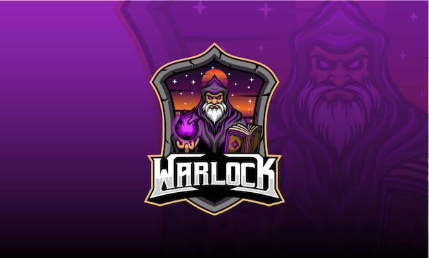 Jogo de logotipo warlock