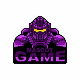 Jogo de robô de mascote