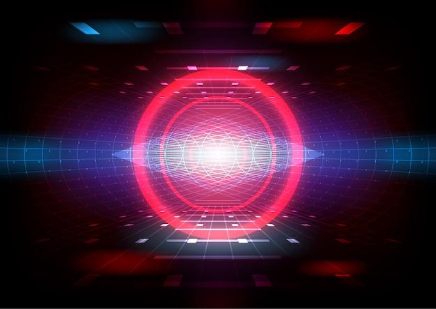 Jogo de simulação de realidade virtual e conceito de entretenimento