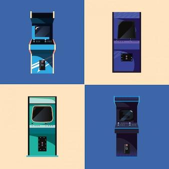 Jogo de vídeo retro ilustration