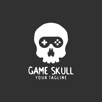 Jogo do logotipo do crânio