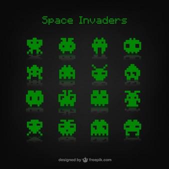 Jogo dos invasores do espaço