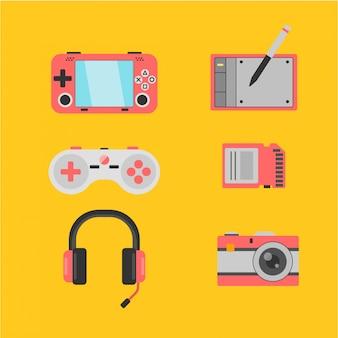 Jogo e produção de gadgets para dispositivos móveis