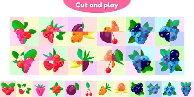 Jogo educativo para crianças em idade pré-escolar e escolar