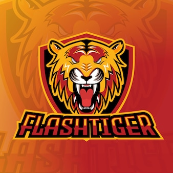 Jogos de logo flash tiger esport