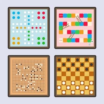 Jogos de tabuleiro de vista superior para jogar com os amigos
