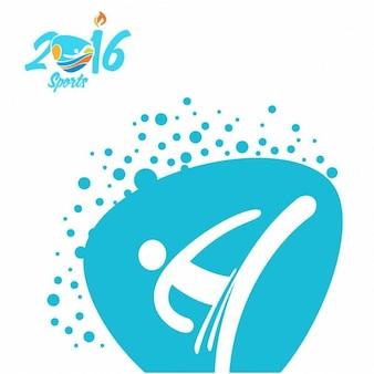Jogos olímpicos taekwondo logo