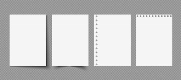Jornal de revista em branco fechado. folhas brancas em branco