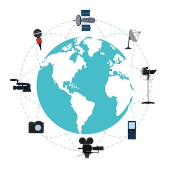 Jornalismo ao redor do mundo