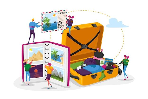 Jovens após as férias, conceito de tempo livre