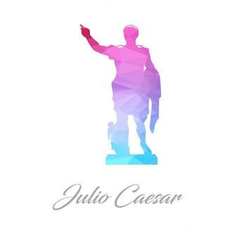 Julio casar poligonal