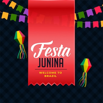 Junina de festa latino-americana
