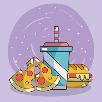 Junk food e lanches