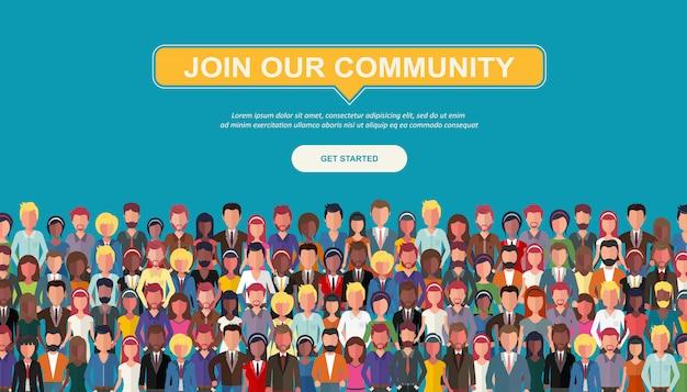 Junte-se a nossa comunidade