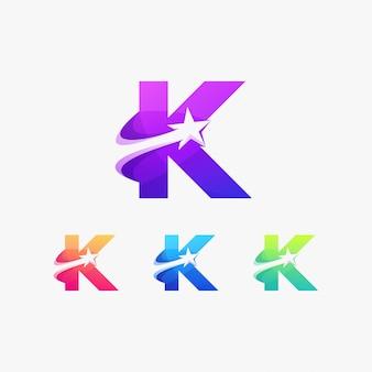 K estrela inicial alfabeto internet