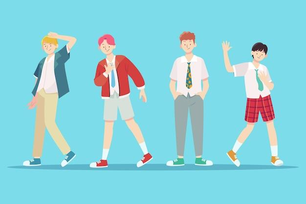 K-pop boy group
