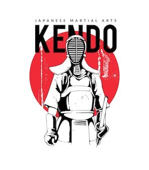 Kendo artes marciais japonesas