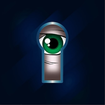 Keyhole design abstrato