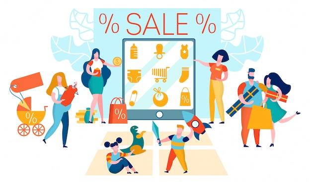 Kids shop sale