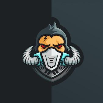 Kingkong logo, logotipo do esporte radical