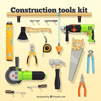 Kit de ferramentas de construção