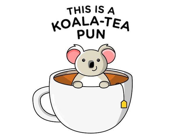 Koala tea pun