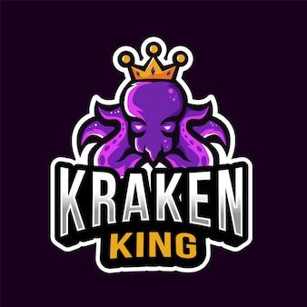 Kraken king esport logotipo