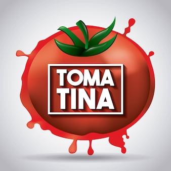 La tomatina tomato spain festival splash