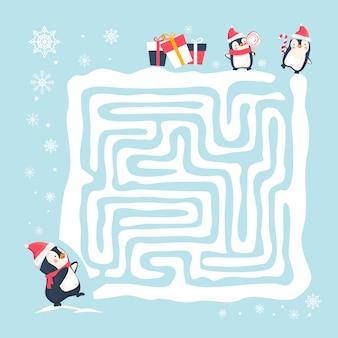 Labirinto jogo ilustração
