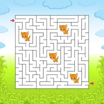 Labirinto.