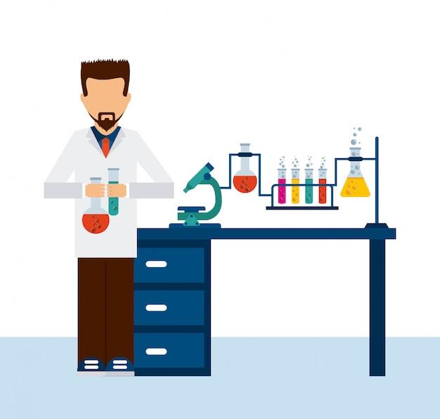 Laboratório cientifico