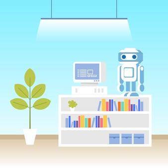 Laboratório de programação de robôs