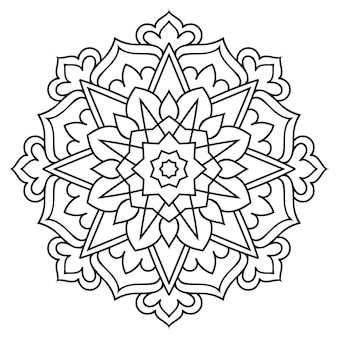 Laço de mandala. design étnico.