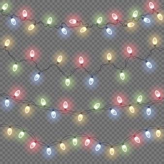 Lâmpada de brilho colorido em fios de arame luzes brilhantes decorações de guirlandas de natal luz de néon led