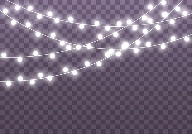 Lâmpada de néon led guirlanda de natal