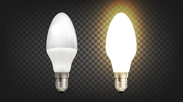 Lâmpada economizadora de incandescência elétrica de poupança de energia