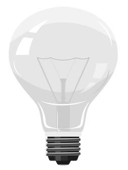 Lâmpada elétrica com espiral