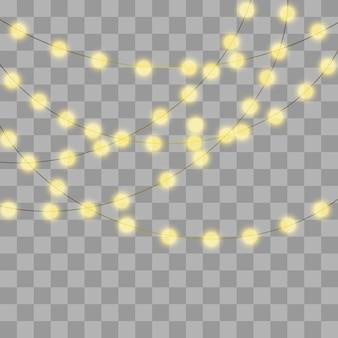 Lâmpadas brilhantes