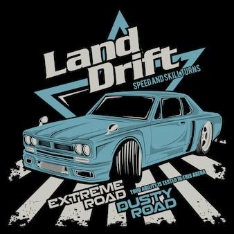 Land drift